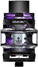 Skin Decal Vinyl Wrap for Smok TFV12 Prince Tank Vape Kit skins stickers cover/ Black Panther purple smoke