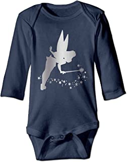 YDSDVS Tinkerbell Platinum Style Navy Baby Long Jumpsuit