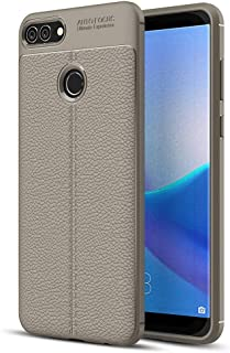 Repair tools,Completely fit and work For Huawei Y9 (2018) / Enjoy 8 Plus Litchi Texture Soft TPU Protective Back Cover Cas...