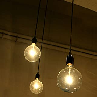 Lámpara colgante Edison de 3bombillas, ajustable, DIY, para techo, moderna y elegante para comedor de estilo industrial