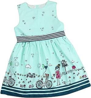 Distinguished Elegant Girls Dress,Toddler Kids Baby Dress Girls Pink Sleeveless Party Princess Pageant Dresses Cute Print ...