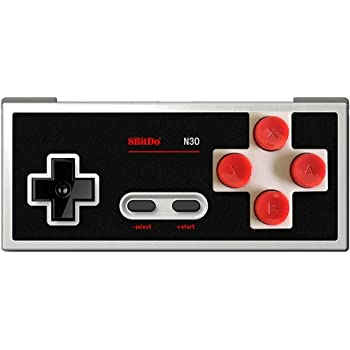 8Bitdo N30 Wireless Controller Gamepad Classic Bluetooth Video Game Joystick for Android/PC/Mac OS/Switch