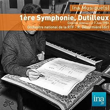 Dutilleux: 1ère Symphonie