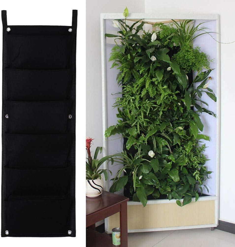 NATFUR 6 Pocket Vertical Wall Garden Herb [ギフト/プレゼント/ご褒美] 正規品 Planter Outdoor Indoor