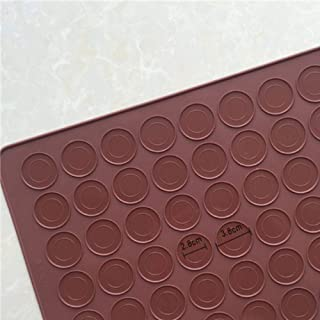 LLAAIT 48 cavités 30 cavités Tapis de Silicone Bricolage Tapis de Cuisson gâteau pâtisserie Four Cuisson Moule Feuille Cui...