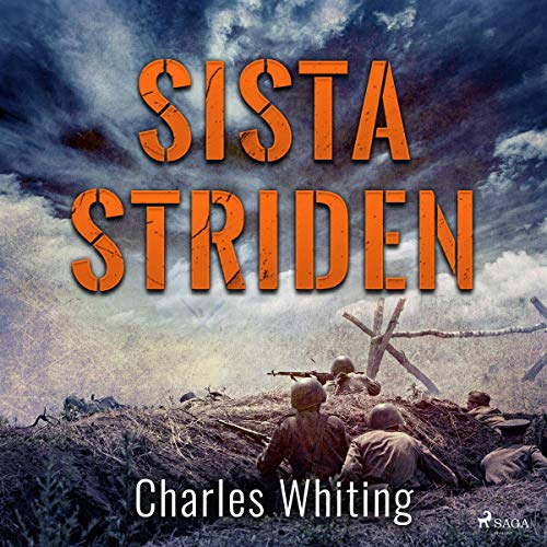 Sista striden audiobook cover art