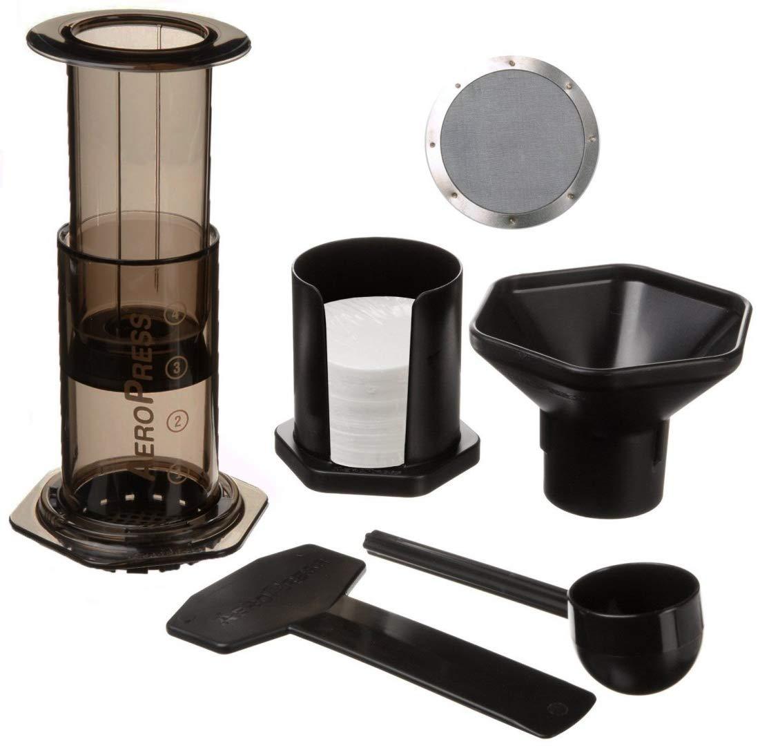 Aerobie Aeropress máquina de café con Ultra Fino Acero Inoxidable ...