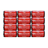 Surefire SF12-BB Box of 12 123A 3 Volt Lithium Batteries 12-Pack SF123A, EXP in 2029