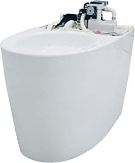 TOTO CT989CUMFG#01 NEOREST Dual Flush 1.0 or 0.8 GPF Elongated Toilet Bowl for AH and RH, White-CT989CUMFG, Cotton White