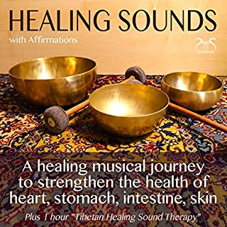 Healing Sounds with Affirmations cover art