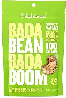 Bada Bean Bada Boom Plant-based Protein, Gluten Free, Vegan, Non-GMO, Soy Free, Kosher, Roasted Broad Fava ...