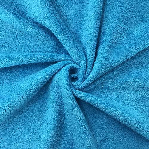 Tela de rizo de algodón - se vende a medio metro, altura fija 150 cm. 1 cant. = 50 cm; 2 cant. = 100 cm Ideal para hacer toallas, baberos, accesorios para bricolaje