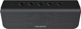 Altavoz Creative Metallix Plus portátil, Dual Driver, Bluetooth 4.2 con batería de 24 Horas de duración, Graves realzados, Resistente al Agua IPX5 (Negro) (Metallix Plus)