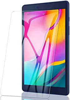 [2 Packs] Galaxy Tab A 8.0 (2019) Screen Protector, 9H Hardness Ultra-thin Shatterproof Anti-Scratch HD Clear Tempered Gla...