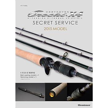 メガバス(Megabass) ロッド OROCHIX4 SECRET SERVICE(オロチX4 シークレットサービス)(2015) F4-66X4-SS