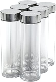 Boroux Original Glass Water Bottle 500ml, Handmade from Eco Friendly, BPA Free, Pure Borosilicate Glass