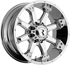 Raceline Assault 16 Chrome Wheel / Rim 6x5.5 with a 0mm Offset and a 106.1 Hub Bore. Partnumber 991C-68060-00
