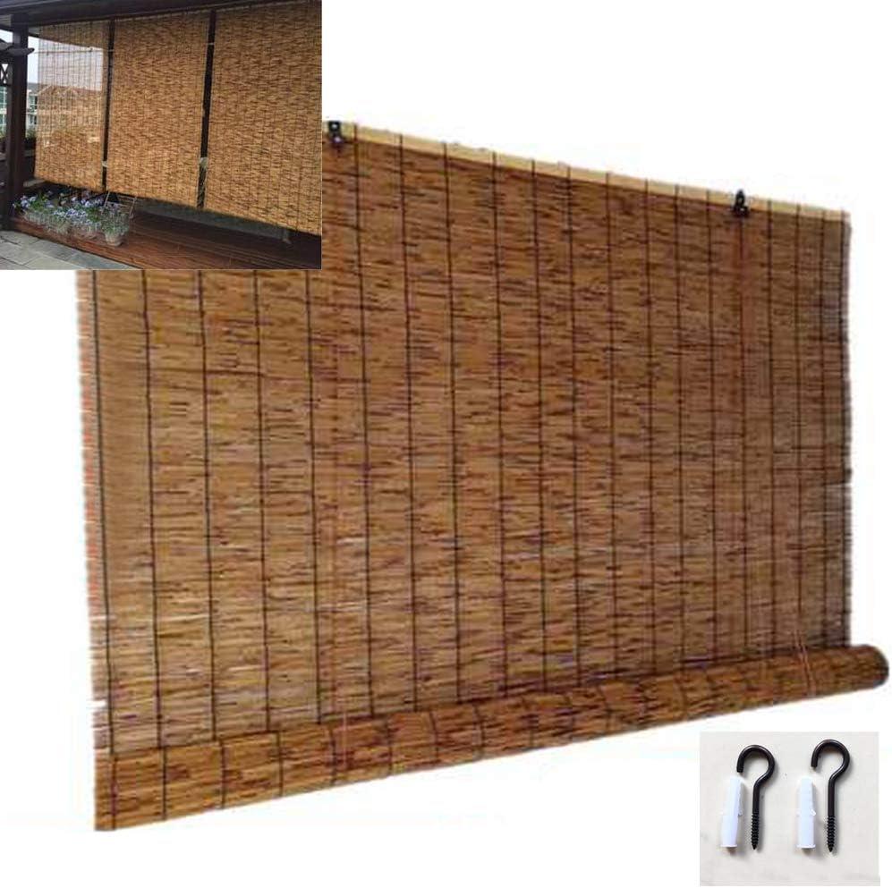 NIANXINN Bamboo Blinds Natural Curtain Blind 着後レビューで 在庫一掃売り切りセール 送料無料 Reed Roller