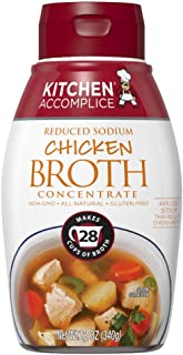 Kitchen Accomplice, Broth Concentrate Chicken Reduced Sodium, 12 Ounce