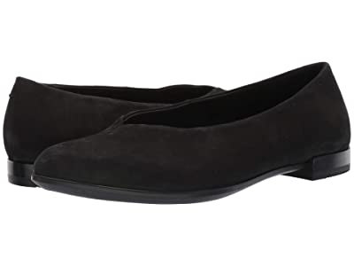 ECCO Shape Pointy Ballerina (Black) Women