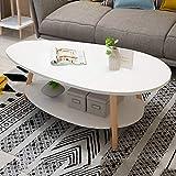 Nordic Maison Petit Appartement Canapé Table D'appoint, Salon À La Maison Petite Table Ronde Étude Créative Table...