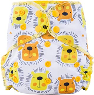 Thank u Mom Cloth Diaper Heavy Wetter with Organic Bamboo Cotton and Microfiber Insert