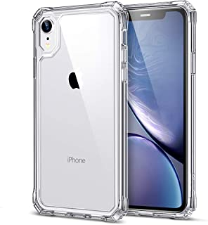 ESR Air Armor Clear Case Compatible for iPhone XR Case [Scratch-Resistant] [Shock-Absorbent] [Reinforced Drop Protection] Hard PC Back + Soft TPU Frame Compatible with The iPhone XR 6.1