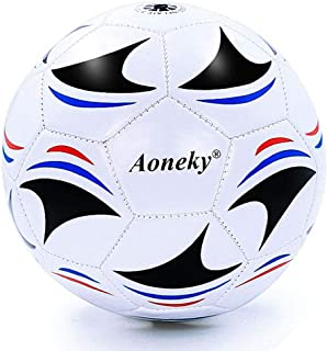 Aoneky Mini Kids Size 3 Soccer Ball – Deflated Mini...