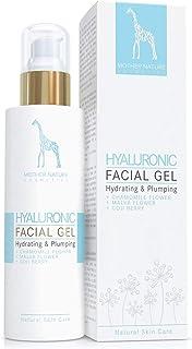 Gel Hidratante Facial de Ácido Hialurónico con Manzanilla Real - NATURAL VEGANO - para Mujer y Hombre - 100ml Hecho en Au...