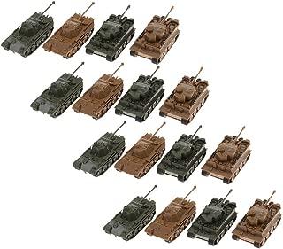 B Blesiya 1/144 Panzerkampfwagen Vi Ausf. E Tiger I Tank Model Toy para Colección 16x