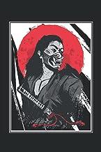 "Samurai giapponese: Notebook 6 ""x 9"" foderato. Taccuino per Samurai |Guerriero |. Giappone |. Fighter |. Appunti (Italian ..."