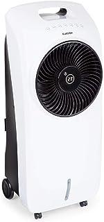 KLARSTEIN Rotator - Enfriador de Aire, Ventilador, Ionizador, Humidificador, 110 W, Cool Breeze, 3 velocidades, 3 Modos, Temporizador 8 h, Depósito de Agua de 7 L, Mando a Distancia, Blanco