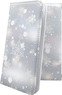 ZenFone5Q ZC600KL ケース 手帳型 雪の結晶 雪 冬 癒し いやし 結晶 ハート love kiss キス 唇 ゼンフォン5q ゼンフォン5 手帳型ケース デザイン イラスト zenfone 5q 5 q 女の子 女子 女性 レディース