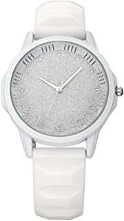 Bosymart Women's Silicone Strap Quartz Analog Jelly Wrist Watch