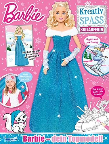 Barbie KreativSPASS Magazin Nr.26/2019 - Skiläuferin