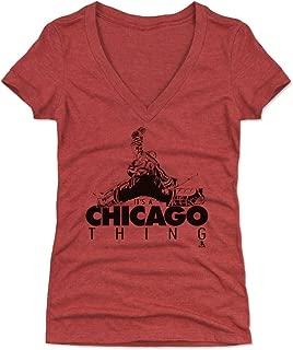 500 LEVEL Corey Crawford Women's Shirt - Chicago Hockey Shirt for Women - Corey Crawford Save