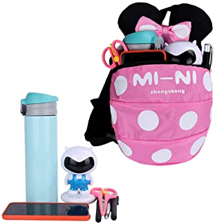 Backpack Anti Lost Baby Toddler Walking Safety Backpack Little Kids Anti-Lost Travel Bag Harness Reins Cute Backpacks...