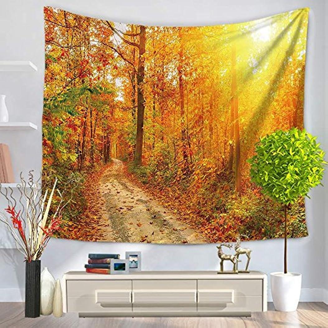 リビジョン周術期先駆者Onior 秋の風景秋の葉タペストリークリエイティブ壁掛け寝室のリビングルームのソファの背景壁のアート装飾130 * 150cm 15スタイルでAvailable