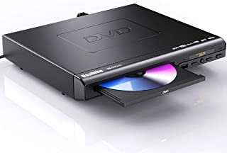 DVD Player for TV, HD DVD Player with HDMI & AV Cable for Projector, 1080P Full HD CD Player, Disc Player for Video & Medi...