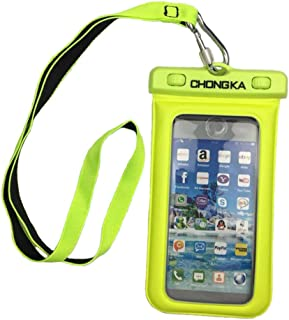 SANHOOII Waterproof Float Hand Strap and Floating Cell Phone Dry Bag for Small Waterproof Camera 250g Small Waterproof Camera//Cell Phone//Key
