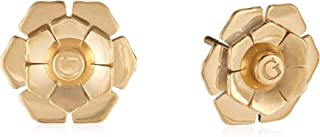 Guess Womens Stainless Steel Fashion Earring - UBE79199, Color Gold