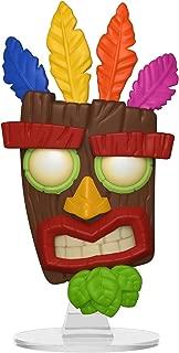 Funko Pop Games: Crash Bandicoot - Aku Aku Collectible Figure, Multicolor - 33915