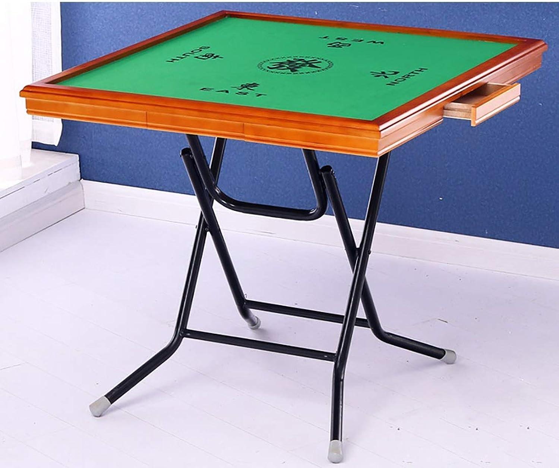 el mejor servicio post-venta NuoEn Mahjong Table, Poker, Juegos de Cochetas, Juegos de de de Mesa, Juegos de fichas, Dominó, Poker Table Wooden (Color   85cm Mahogany Wood Side 1)  en linea