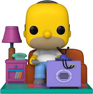 Funko Pop! Deluxe: Simpsons - Homer Watching TV