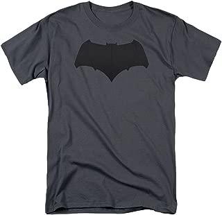 Batman Logo Charcoal T-Shirt Batman V Superman Dawn of Justice XL