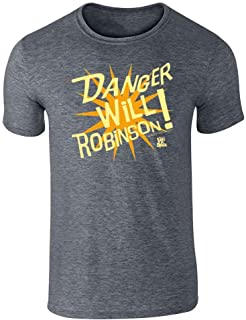 Danger Will Robinson! Lost in Space Retro SciFi TV Short Sleeve T-Shirt