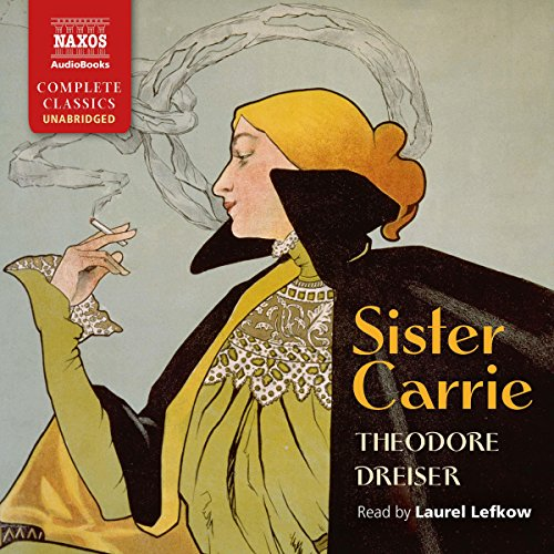 Sister Carrie audiobook cover art