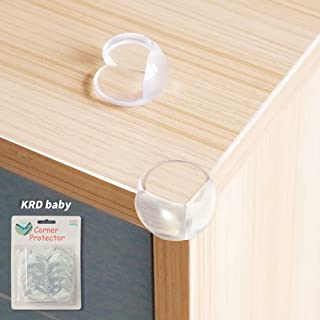 KRD baby Coener Guards(12 Packs)-Baby proofing Corner Protector for Baby Safety,Child Proof Corner Cover Corner Bumpers,Furniture & Sharp Corners Baby Proofing