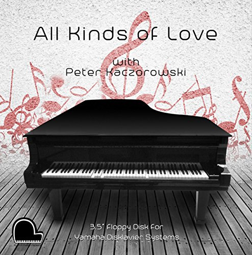 All Kinds of Love - Yamaha Disklavier Compatible Player Piano Music on 3.5' DD 720k Floppy Disk