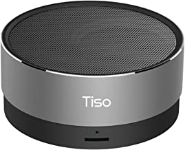 Tiso T10 Metal Mini Portable Wireless Bluetooth Speaker 10-15 Hours Playtime 5W Loudspeaker Outdoor IPX5 Waterproof AUX TF MIC
